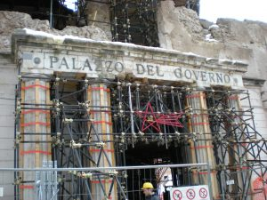 10th anniversary of l'Aquila earthquake